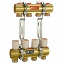 Reguliuojamas kolektorius su balansiniais ventiliais 5 žiedų